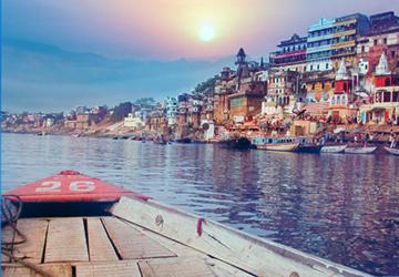 A destination of Le Passage to India