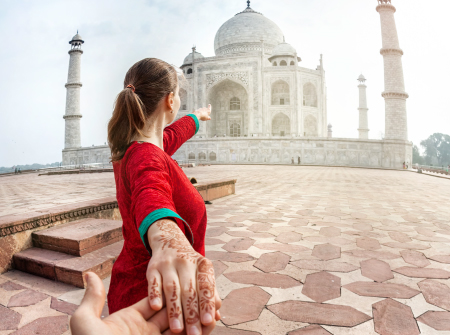 Taj Mahal - A part of Incredible India