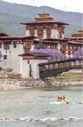 Rafting & Kayaking In Bhutan