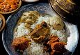 A royal wazwan feast in Kashmir
