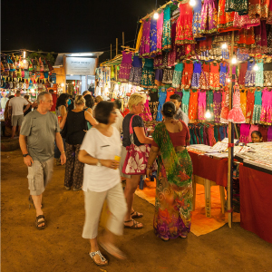 Happy shopping in North Goa!