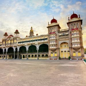 The revered Mysore Palace