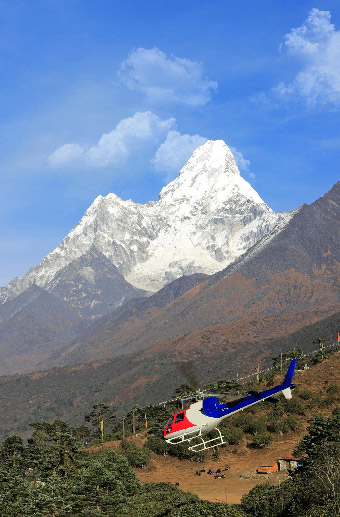 The Himalayas by Private Air with Le Passage to India