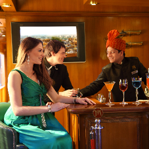Travel luxury on the Palace on Wheels