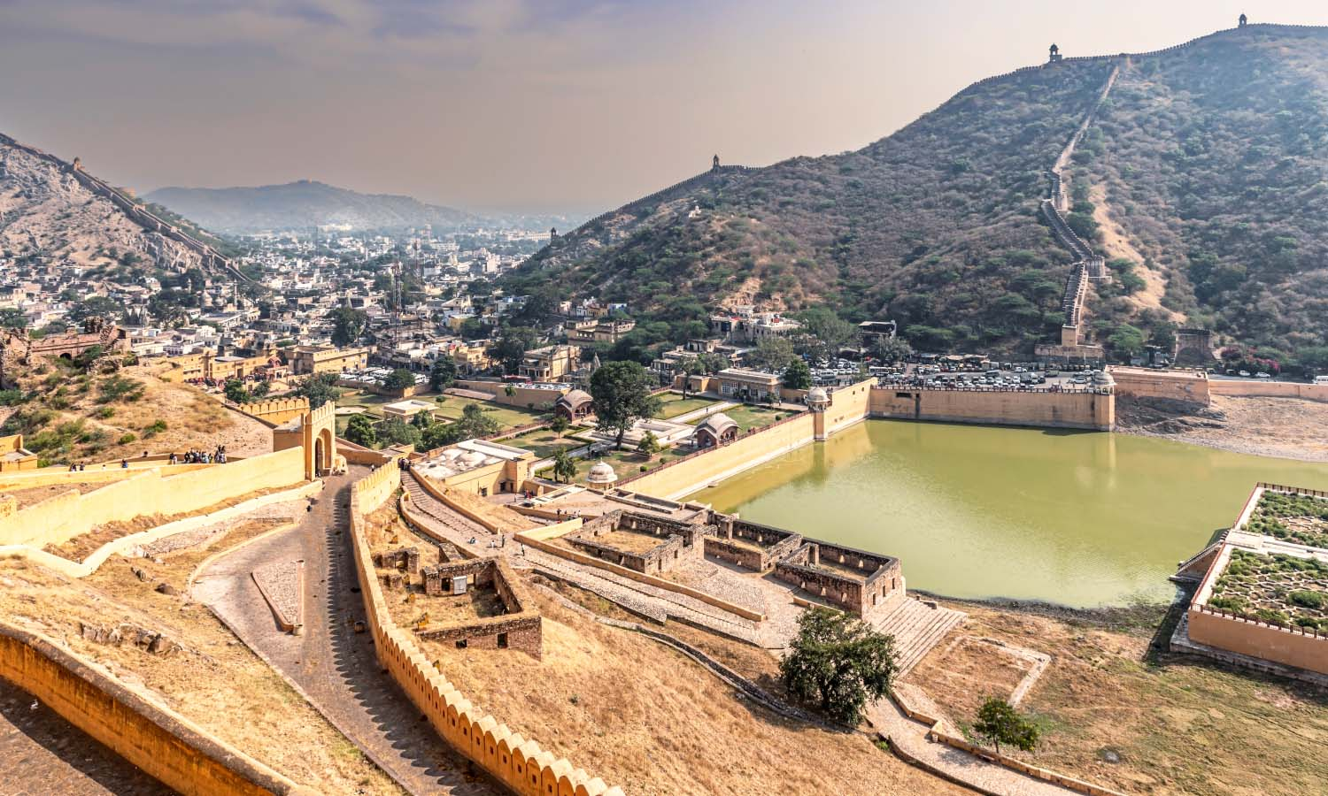 View from Amber Fort, Rajasthan
