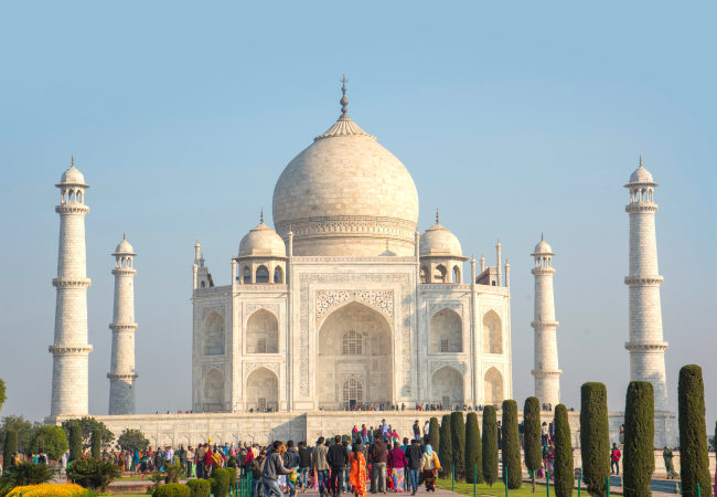Taj Mahal ticket valid for three hours only